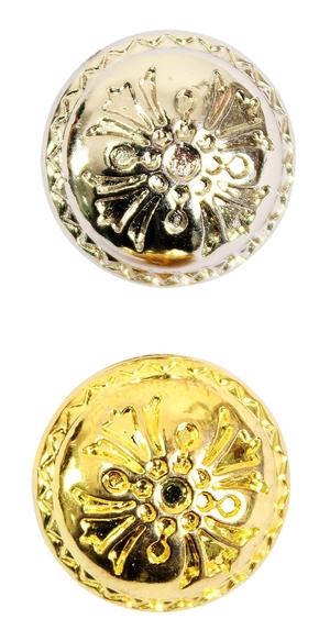 Vestment button Lily