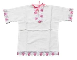 Baptismal robe for babygirl