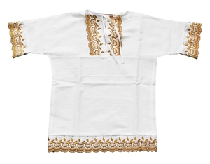 Baptismal robe for babyboy - 1
