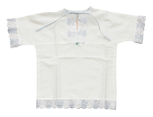 Baptismal robe for babyboy - 2