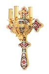 Paschal three-candle holder - 9