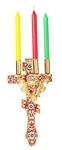 Paschal three-candle holder - 10