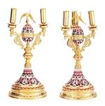 Bishop's dikirion-trikirion no.18b