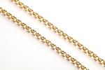 Pectoral cross chain Peas (gold-gilding)