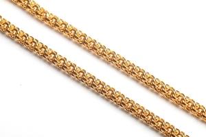 Pectoral cross chain Spring (gold-gilding)