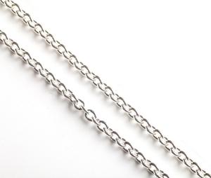 Pectoral cross chain Anchor (silver-gilding)