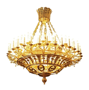 Two-level chandelier - 20 (72 lights)