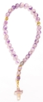 Orthodox prayer rope (30 knots) - Amethyst