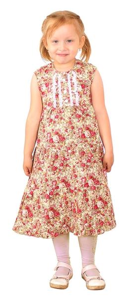 Polyushko girl dress (poplin)