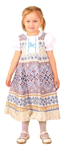 Russian Style girl dress