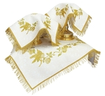 Embroidered chalice covers (veils) - Edem Birds