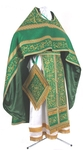 Embroidered Russian Priest vestments - Iris (green-gold)