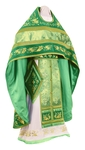 Embroidered Russian Priest vestments - Chrysanthemum (green-gold)