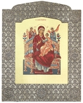 Icon: The Most Holy Theotokos the Queen of All - 12