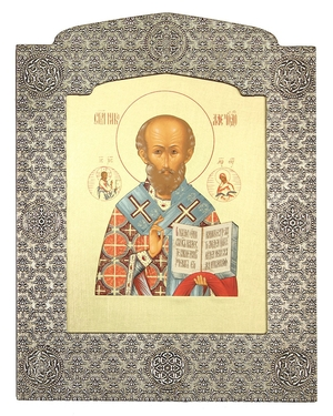 Icon: St. Nicholas the Wonderworker - 25