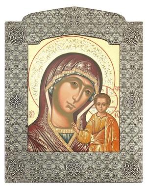 Icon: The Most Holy Theotokos of Kazan' - 24