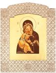 Icon: The Most Holy Theotokos of Vladimir - 11