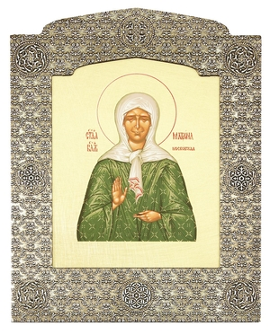 Icon: Blessed Matrona of Moscow - 10