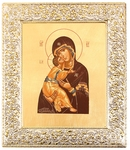 Icon: The Most Holy Theotokos of Vladimir - 17