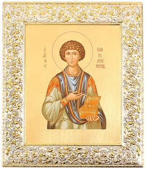 Icon: Holy Great Martyr and Healer Pantheleimon - 7