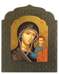 Icon: The Most Holy Theotokos of Kazan - 42
