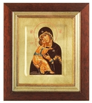 Icon: The Most Holy Theotokos of Vladimir - 14