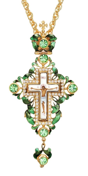 Pectoral chest cross no.6
