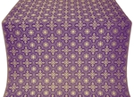 Rus' metallic brocade (violet/gold)