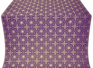 Rus' metallic brocade (violet/gold)