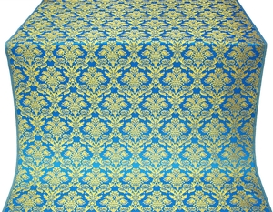 Vazon metallic brocade (blue/gold)