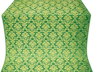 Vazon metallic brocade (green/gold)
