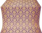 Vazon metallic brocade (violet/gold)