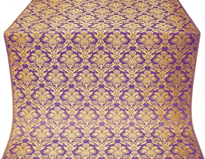 Vazon metallic brocade (violet/gold)