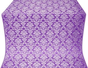 Vazon metallic brocade (violet/silver)