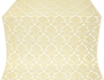 Vazon metallic brocade (white/gold)