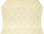 Vazon metallic brocade (white/gold)