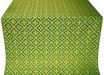 Canon metallic brocade (green/gold)