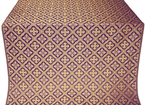 Canon metallic brocade (violet/gold)