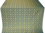 Canon silk (rayon brocade) (blue/gold)
