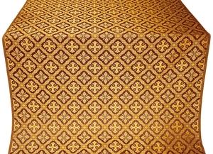 Canon silk (rayon brocade) (claret/gold)