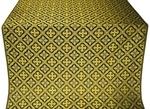 Canon silk (rayon brocade) (black/gold)