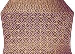 Canon silk (rayon brocade) (violet/gold)