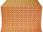 Canon silk (rayon brocade) (red/gold)
