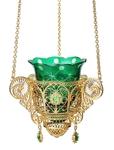 Jewelry oil lamp no.24