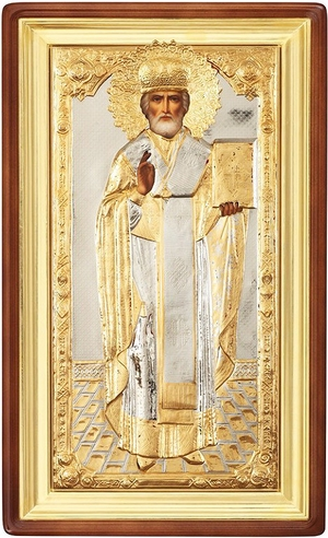 Icon of St. Nicholas the Wonderworker - 34