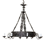 One-level church chandelier (8 lights)