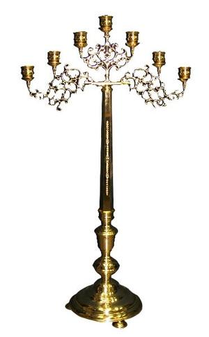 Seven-branch floor candelabrum - 2