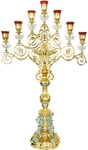 Seven-branch altar stand (candelabrum) no. 7