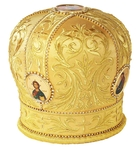 Mitres: Embroidered mitre no.5b
