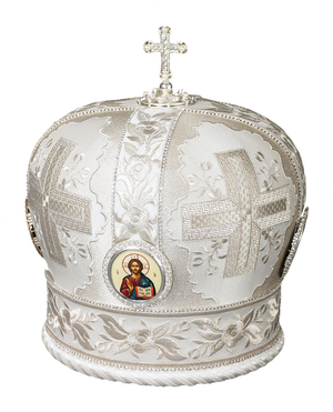Mitres: Embroidered mitre no.94
